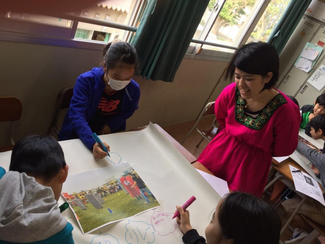 石垣市立登野城小学校で出前授業を行いました~!