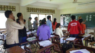 2017年度教師海外研修の様子