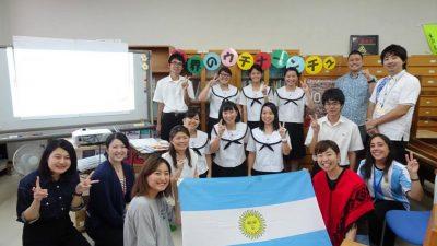 【レッツスタディー!ウチナーネットワーク事業】糸満高校で出前授業行いました!