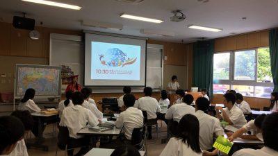 【レッツスタディー!ウチナーネットワーク事業】豊見城高校にて出前授業を行いました!